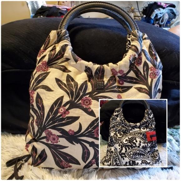 1154 Lill Studio Handbags - 1154 Lill Studio Reversible Hobo Bag